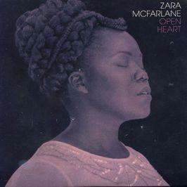 "Pochette de l'album ""Open Heart EP (CD Promo)"" par Zara Mcfarlane"
