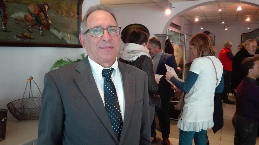 Michel Moyrand, candidat à la mairie de Périgueux