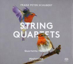 Quatuor à cordes n°10 en Mi bémol Maj op posth 125 n°1 D 87 : Allegro moderato - QUARTETTO ITALIANO