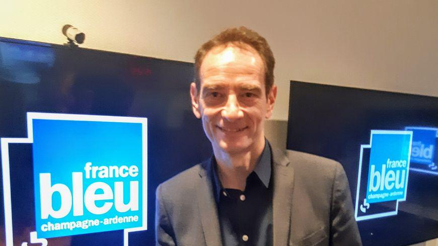 "Jean-Yves Heyer, directeur général de "" Invest in Reims »"