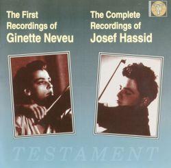 Mélodie hébraïque op 33 - transcription pour violon et piano - JOSEF HASSID