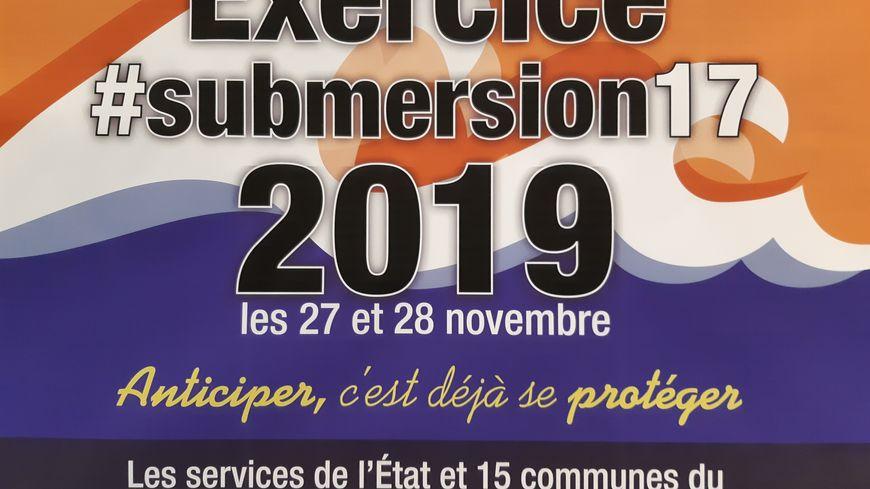 Exercice du 27 et du 28 novembre en Charente Maritime