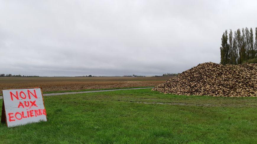 Une mobilisation anti-éoliennes dans le secteur de Beaune la Rolande