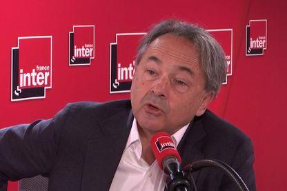 Gilles Kepel, dans les studios de France Inter, le 3 novembre 2019.