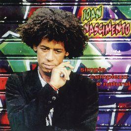 """Pochette de l'album """"Simple, complexo e natural"""" par Joan Nascimento"""