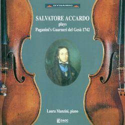 Variations sur un thème de Corelli - arrangement pour violon et piano - SALVATORE ACCARDO