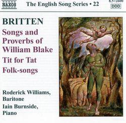 7 folk songs British Isles : The plough boy n°1 - RODERICK WILLIAMS