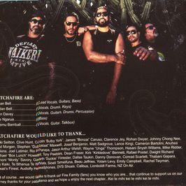 """Pochette de l'album """"Legacy"""" par Katchafire"""