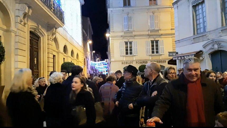 Le maire, Jean-Paul Fournier a donné le coup d'envoi des illuminations