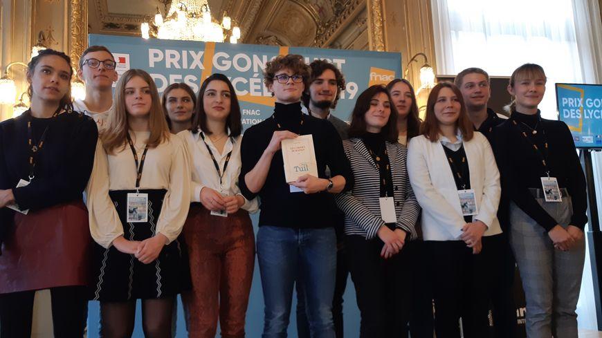 Le jury du 33è prix Goncourt des lycéens