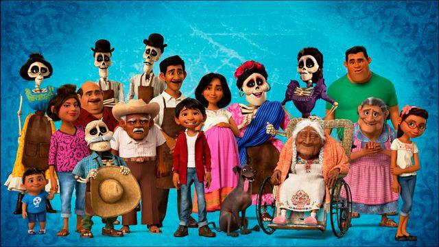 """Image promotionnelle du film """"Coco"""" réalisé par Lee Unkrich et Adrian Molina (2017)"""