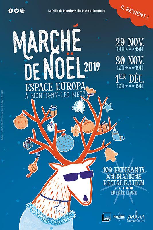 Marché de Noël Montigny-lès-Metz 2019