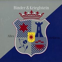 """Pochette de l'album """"Alles verloren"""" par Binder And Krieglstein"""