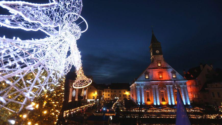 Les lumières de Noël à Montbéliard 2018