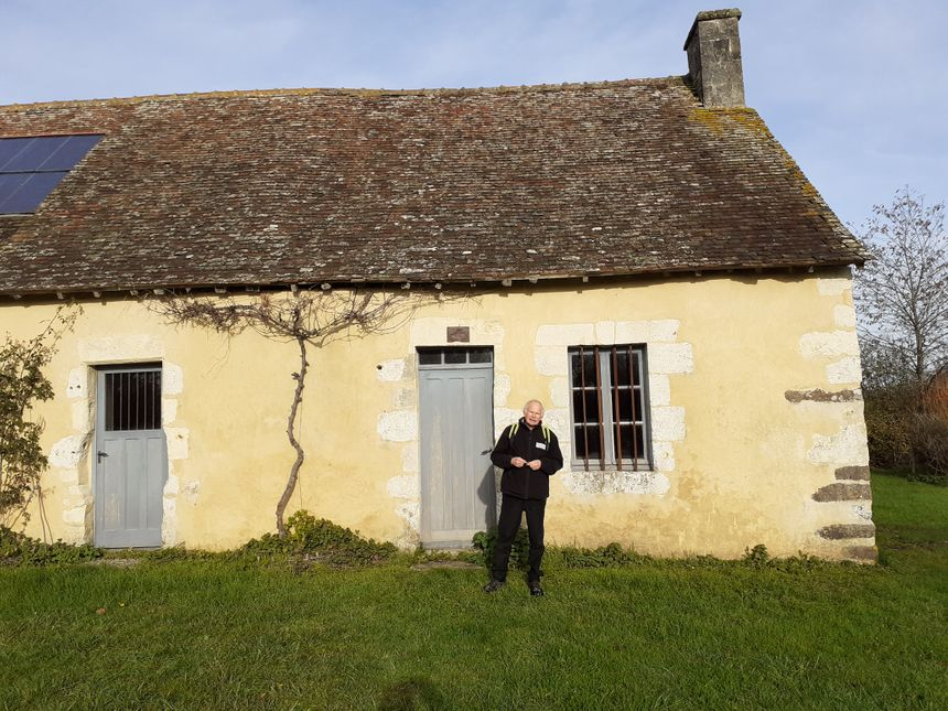 Michel Radigue sur le site de la Lambonnière