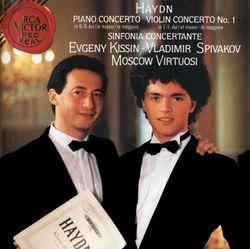 Symphonie concertante en Si bémol Maj HOB I : 105 : Allegro con spirito - pour violon violoncelle hautbois basson et orchestre - VLADIMIR SPIVAKOV