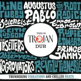 "Pochette de l'album ""This is trojan dub"" par The Roots Radics"