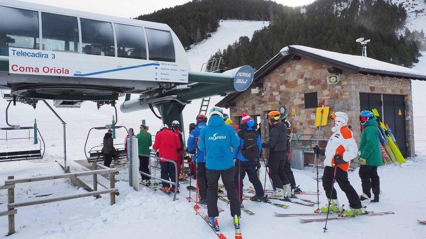 La station de la Masella a accueilli les premiers skieurs ce mercredi