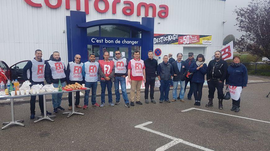 Les Abrets : Vers une reprise du magasin Conforama par But ? - France Bleu