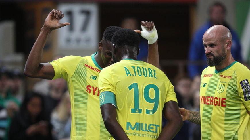 Les coéquipiers de Nicolas Pallois, Kalifa Coulibaly et Abdoulaye Touré (image) n'a plus marqué en Ligue 1 depuis 274 minutes.
