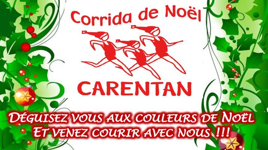 La Corrida de Noël à Carentan le 15 décembre 2019 avec France Bleu Cotentin