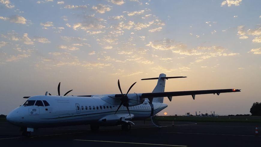 Un des ATR 72 de Regourd Aviation