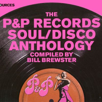 """Pochette de l'album """"The P&P records soul and disco anthology"""" par Le'o Roy"""