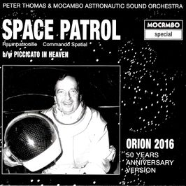 "Pochette de l'album ""Space Patrol (Raumpatrouille)"" par Peter Thomas & The Mighty Mocambos"