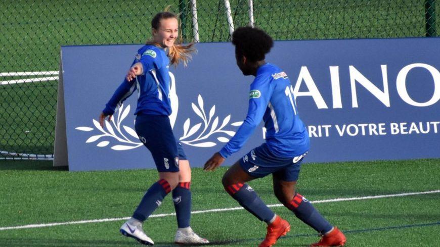 La joie de Mélissa Renard en Coupe de France féminine