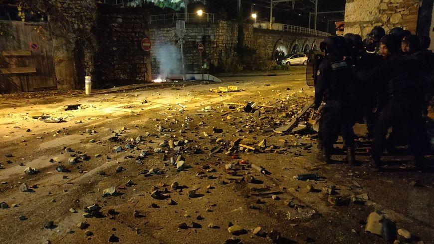 Photo diffusée vers 21 heures le 1er décembre sur Twitter par la gendarmerie de l'Ardèche