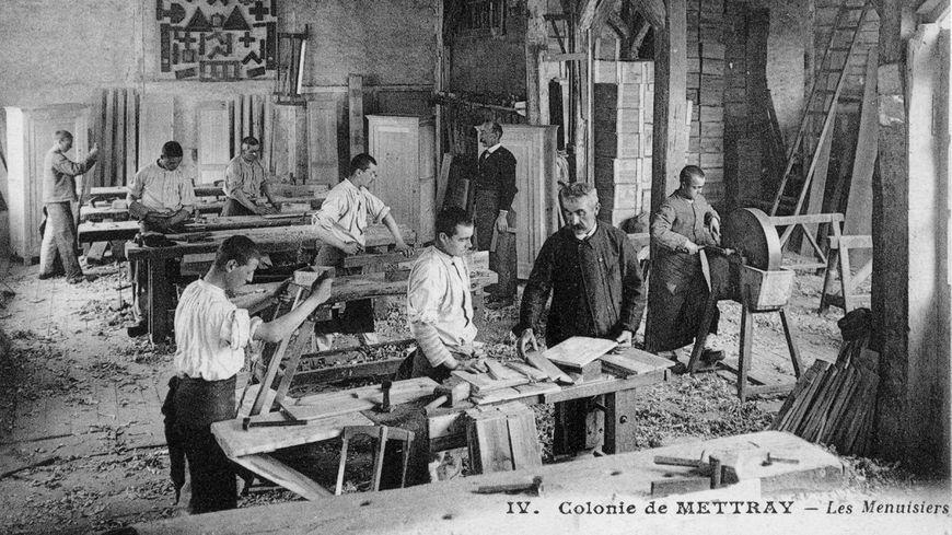 Colonie de Mettray, les menuisiers.