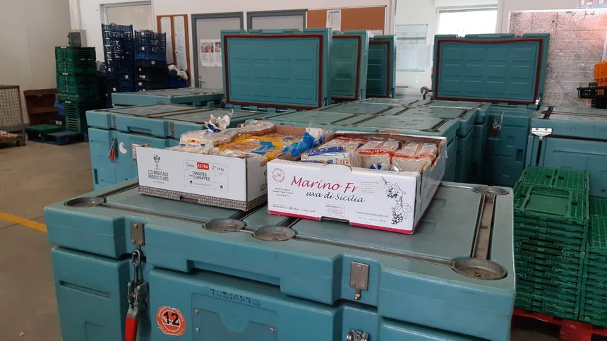 Des produits prêtes à être distribués