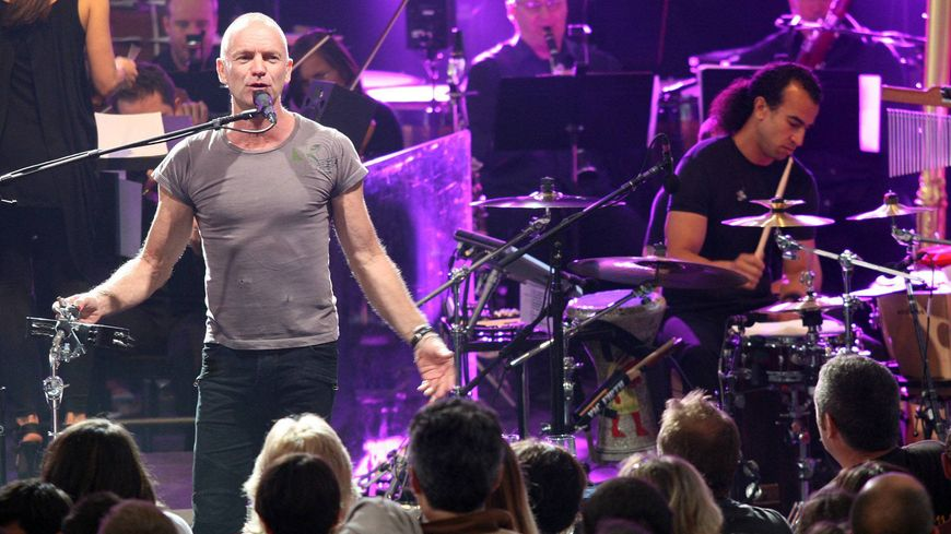 L'ex chanteur et batteur du groupe The Police, Sting, s'était déjà produit au festival de Poupet, en Vendée, en 2011.