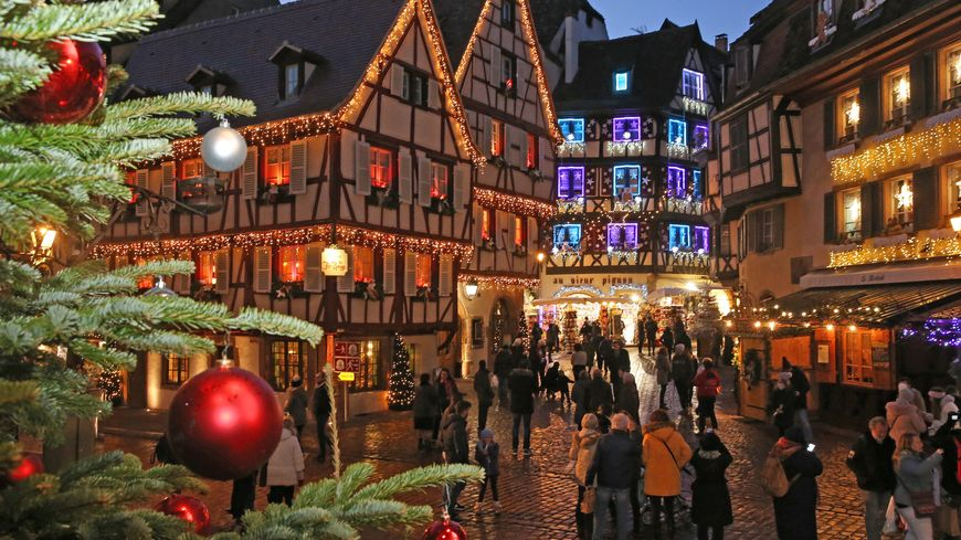 Marché de Noël de Colmar (illustration)