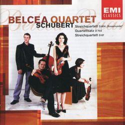 Quatuor à cordes n°10 en Mi bémol Maj op 125 n°1 D 87 : Allegro - QUATUOR BELCEA