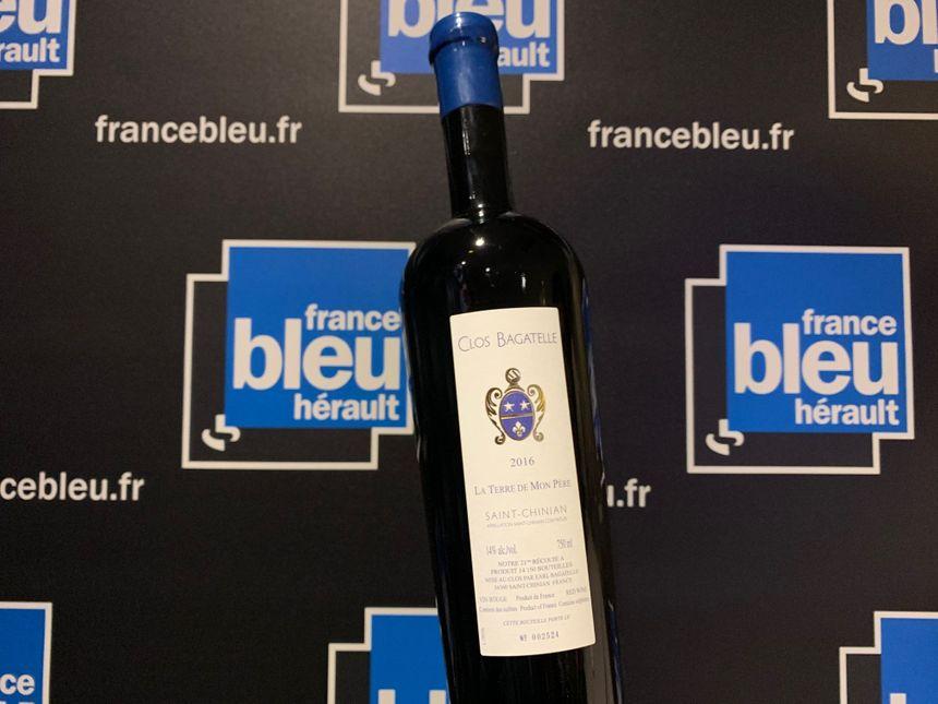 Terre de mon Père du Clos Bagatelle :  un vin très élégant, d'une belle richesse aromatique