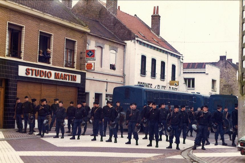 Des CRS à Auby le 26 octobre 1979 - Aucun(e)