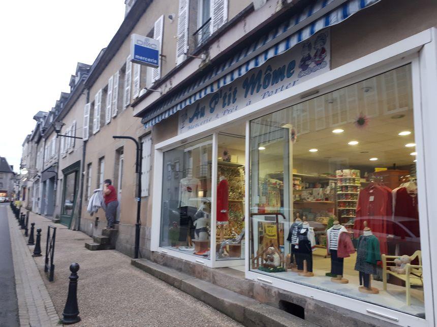 La Souterraine compte encore de nombreuses boutiques indépendantes