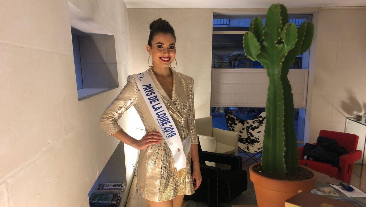 Miss France 2020 : la Vendéenne Yvana Cartaud se prépare pour l'élection