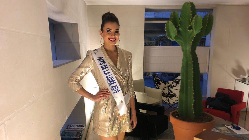 La miss Pays de la Loire 2019, Yvana Cartaud est originaire de Beaufou en Vendée