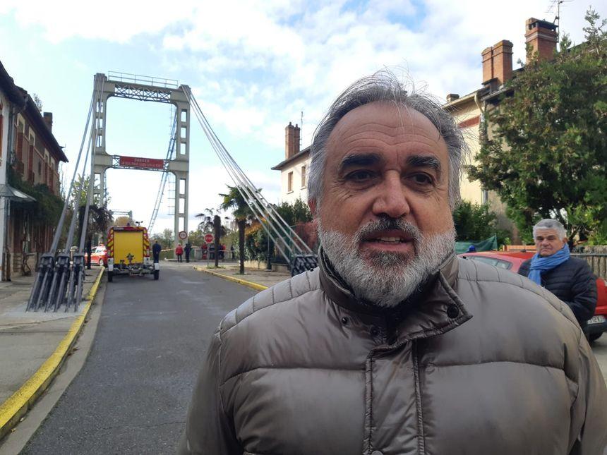 Eric Oget, le maire de Mirepoix-sur-Tarn