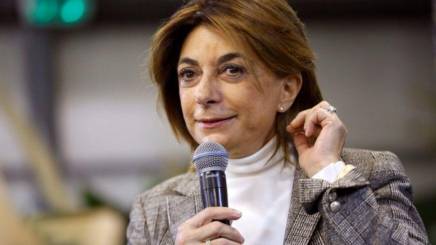 Martine Vassal, candidate LR aux municipales à Marseille
