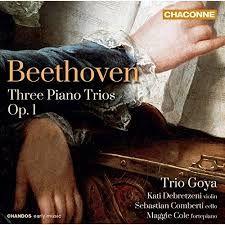 Trio pour violon violoncelle et pianoforte en ut min op 1 n°3 : 4. Finale - KATI DEBRETZENI