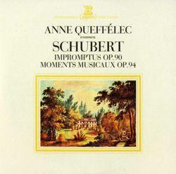 4 impromptus pour piano op 90 D 899 :  3. Impromptu en Sol bémol - ANNE QUEFFELEC