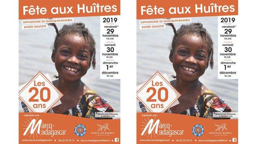 Fête aux Huîtres organisée par l'Association Marcq-Madagascar