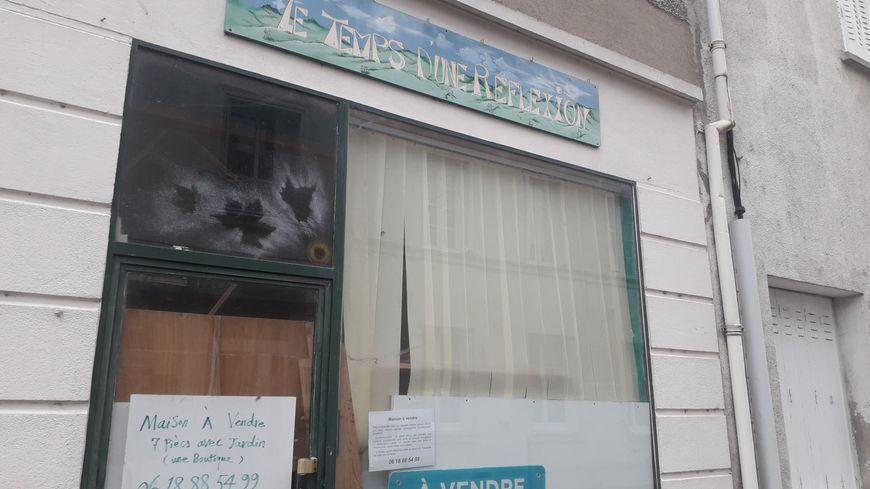 À Châtillon-sur-Indre, le nombre de locaux commerciaux vides est important