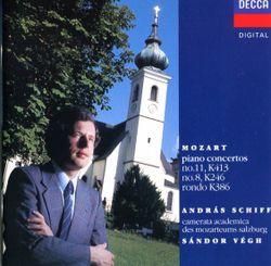Concerto pour piano n°8 en Ut Maj K 246 (Lützow) : 1. Allegro aperto - ANDRAS SCHIFF