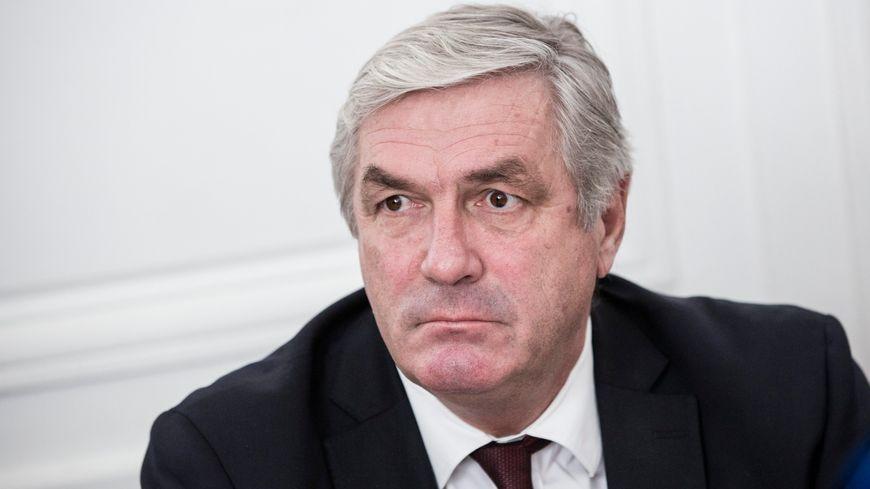 François Sauvadet le président du département de la Côte-d'Or
