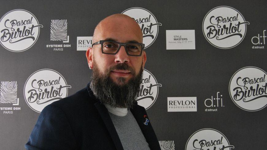 Pascal Burlot, coiffeur à Guingamp