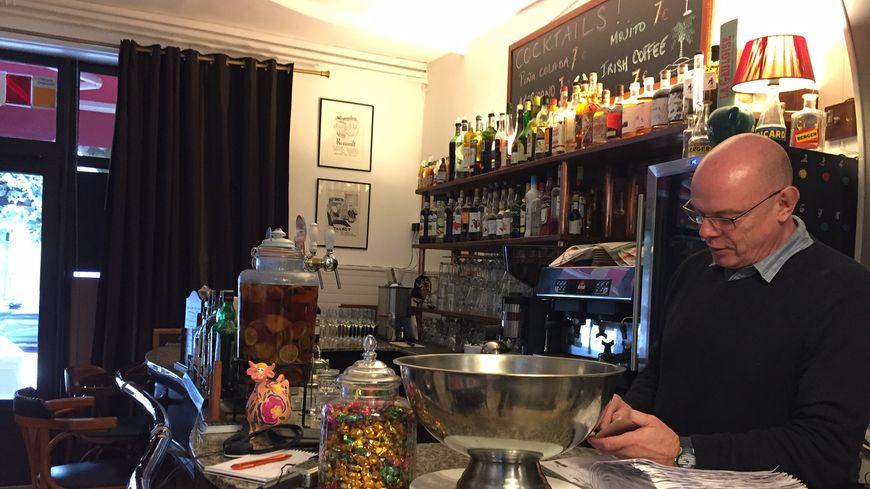 Philippe Poisier le nouveau patron du Restaurant Le Petit Comptoir à Limoges.